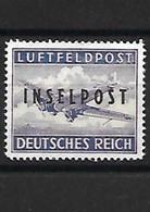 581-ALLEMAGNE-III REICH-REPRODUCTION- LUFTFELPOST-INSELPOST - Occupation