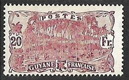 GUYANE N°90 N* - Guayana Francesa (1886-1949)