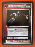 Star Trek CCG (Q Continuum) - Ships Klingon – I.K.C. Maht-H'a (rare) - Star Trek