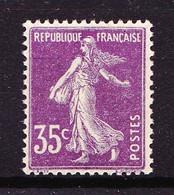 142 - 35c Violet Semeuse - Neuf N** - Très Beau. - 1906-38 Sower - Cameo