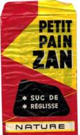 Autres Collections - Papier D'emballage - Petit Pain Zan - Suc De Réglisse - Andere Sammlungen