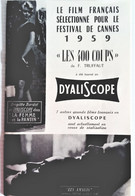 DYALISCOPE Le Film Français 1959 - Cinema Advertisement
