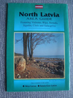 NORTH LATVIA AREA GUIDE - LATVIA, BALTIC, 1990 APROX. - Dépliants Turistici