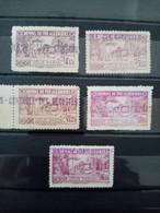 ALGERIE.1941. Timbres Pour COLIS POSTAUX N° 90 à 94.Série Complète.NEUFS.  Côte Yvert  48,50 € - Pacchi Postali