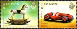 CEPT / Europa 2015 Saint Marin N° 2380 Et 2381 ** Les Jouets Anciens - 2015