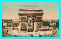 A761 / 057 75 - PARIS Arc De Triomphe Et Place De L'Etoile - Francia