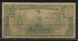PARAGUAY - BILLETE DE 1 GUARANI - USADO - Paraguay