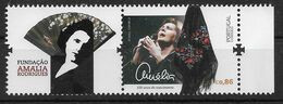 Portugal 2020 , Amalia Rodrigues - 100 Anos Do Nascimento - Marke Mit Anhang - Postfrisch / MNH / (**) - Unused Stamps