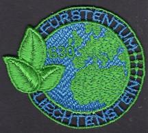 Liechtenstein - 2020 - PET Recycling - Stamp Embroidered From Recycled PET Thread - Liechtenstein