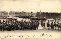 CPA Paris - 541. Un Jour De Manifestation - LL. (80341) - Manifestazioni