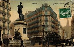 CPA Paris 20e - Statue Etienne Dolet (80867) - Statues