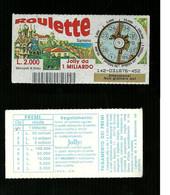 Gratta E Vinci - Roulette - Sanremo - Lotto 142 - Loterijbiljetten