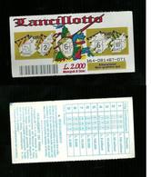 Gratta E Vinci - Lancillotto - Lotto 164 - Loterijbiljetten