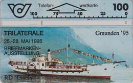 AUSTRIA - STAMP FAIR & SHIP- EXPO TIMBRE & BATEAU - Télécarte Magnétique L&G AUTRICHE - Schiffe