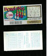 Gratta E Vinci - Bowling - Lotto 148 - Loterijbiljetten