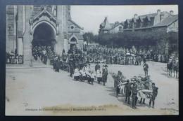 CPA - 1914-1918 - Obsèques Du Colonel Dilschneider à Rambouillet (Yvelines) - Guerra 1914-18