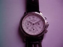 Yonger Bresson - Montre Chronographe  Mouvement Quartz - Ne Fonctionne Pas à Réviser - Moderne Uhren