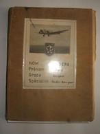 AVIATION :  CARNET D'HEURES DE VOL D'UN SOUS-OFFICIER  DU G  L A  49 ( 1951 A 1954 ) - Luchtvaart