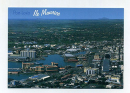 CP Neuve. Ile Maurice, Mauritius. Vue Aérienne De Port-Louis. Aerial View Of Port Louis. Indian Ocean, Océan Indien - Mauritius