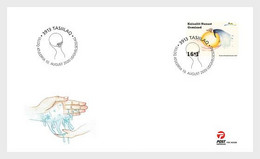 Greenland 2020 Additional Value 2020 - Battle Against COVID-19 1v FDC's - Malattie