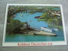KOBLENZ DEUTSCHES ECK - CONFLUENT DE LA MOSELLE ET DU RHIN - - Koblenz