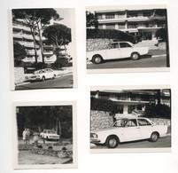 PHOTO ANCIENNE Automobile Voiture Auto Véhicule 1960 Modèle à Identifier Citroën Renault Peugeot Fiat ? Femme - Cars