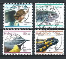 XX-/-1149-  YVERT - N° 1494/97,  Obl. ,  COTE 5.00 € , IMAGE DU VERSO SUR DEMANDE - Schweiz
