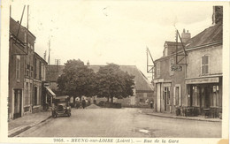 MEUNG SUR LOIRE - Rue De La Gare - Sonstige Gemeinden