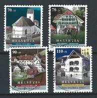 XX-/-1153-  YVERT - N° 1539/42,  Obl. ,  COTE 6.00 € , IMAGE DU VERSO SUR DEMANDE - Schweiz
