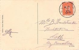 BELGIUM - PICTURE POSTCARD 1913 1 CENTIMES -> LOTH/BRUXELLES /AS159 - Autres