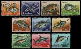 Tokelau 1984 108-17 Serie Corrente Mnh - Tokelau