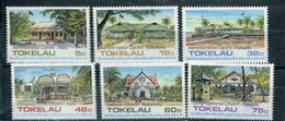 Tokelau 1985 124-29 Architettura Di Tokelau (I) Mnh - Tokelau