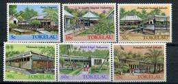Tokelau 1985 124-29 Architettura Di Tokelau (II) Mnh - Tokelau