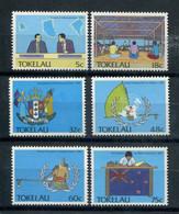 Tokelau 1988 160-65 Evoluzione Politica Dell'isola Mnh - Tokelau
