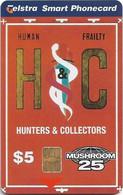 Australia - Telstra (Chip) - Mushroom Records - Hunters & Collectors - Exp. 03.2001, 5$, 25.000ex, Mint - Australie