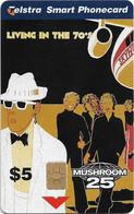 Australia - Telstra (Chip) - Mushroom Records - Skyhooks - Exp. 03.2001, 5$, 25.000ex, Mint - Australie