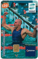 Australia - Telstra (Chip) - N Series 2004 - Swimming - Chip Siemens S35, Exp. 31.03.2006, 20$, Used - Australie