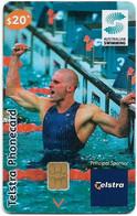 Australia - Telstra (Chip) - N Series 2004 - Swimming - Chip Siemens S35, Exp. 31.05.2006, 20$, Used - Australie
