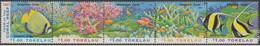 Tokelau 1997 237-41 Barriera Corallina Mnh - Tokelau