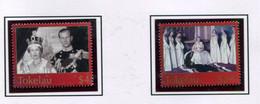 Tokelau 2003 289-90 Cinquantenario Incoronazione Elisabetta II Mnh - Tokelau