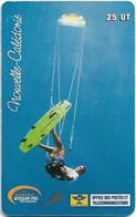 New Caledonia - OPT - Alcatel Kitesurf Pro, SC7, 10.2001, 25Units, 40.000ex, Used - Nouvelle-Calédonie
