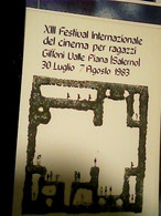 GIFFONI VALLE PIANA (SALERNO)  XIII CINEMA X RAGAZZI   N1983  HR10722 - Salerno