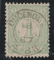 Nederland 1876   NVPH Nr. 31   Used  Met Stempel Oudendijk - Used Stamps