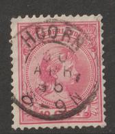 Nederland 1891  NVPH Nr. 37  Met Stempel Hoorn - Used Stamps
