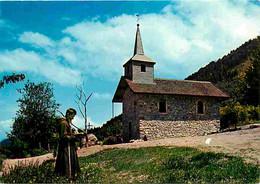 74 - Laprau Sur Lugrin  - La Chapelle De Laprau Sur Lugrin  - Moine - Religieux - Carte Neuve - CPM - Voir Scans Recto-V - Andere Gemeenten