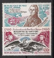 Mali - 1980 - Poste Aérienne PA N°Yv. 391 à 392 - Rochambeau / Washington - Neuf Luxe ** / MNH / Postfrisch - Mali (1959-...)