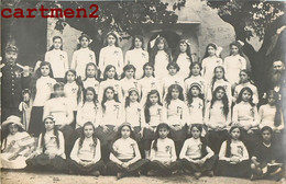 CARTE PHOTO : SAINT-PRIVAT ECOLE LYCEE COLLEGE DE JEUNE FILLES PHOTO DE CLASSE FAMILLE FOUREST A PRIVAS 07 ARDECHE - Altri Comuni