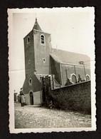 Petite Photo 8,5 X 6 Cm - Visé - 1940 - Tour Eglise Richelle Atteinte Par La Mitraille - 2 Scans - Places
