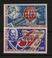 Niger - 1970 - Poste Aérienne PA N°Yv. 129 à 130 - Apollo XIII - Neuf Luxe ** / MNH / Postfrisch - Niger (1960-...)