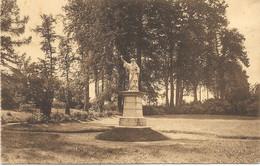 Ollignies NA11: Pensionnat Des Dames Bernardines D'Esquermes. La Statue De St Bernard - Lessines